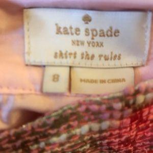 Kate Spade Marit Gold Pencil Skirt